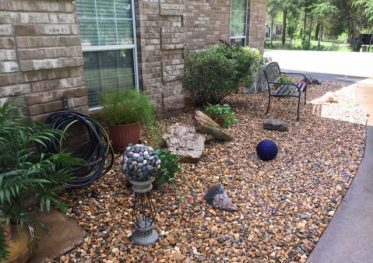 Before And After - Landscape Beds landscape designs