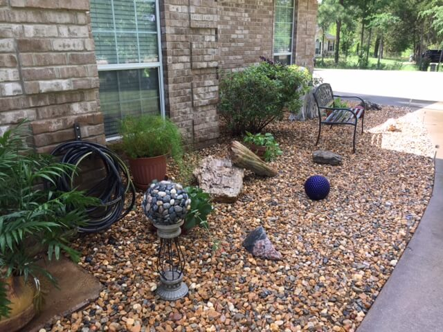 Before And After - Landscape Beds